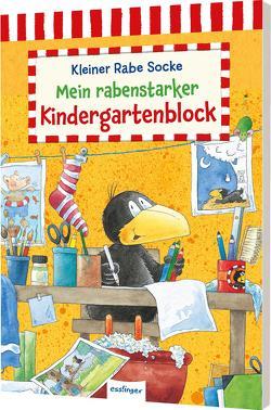 Der kleine Rabe Socke: Mein rabenstarker Kindergartenblock von Rudolph,  Annet