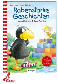 Der kleine Rabe Socke: Rabenstarke Geschichten vom kleinen Raben Socke von Moost,  Nele, Rudolph,  Annet