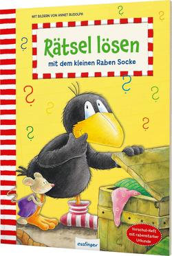 Der kleine Rabe Socke: Rätsel lösen mit dem kleinen Raben Socke von Rudolph,  Annet