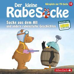 Der kleine Rabe Socke – Socke aus dem All und andere rabenstarke Geschichten von Diverse, Louis,  Hofmann, Thalbach,  Anna, Weis,  Peter
