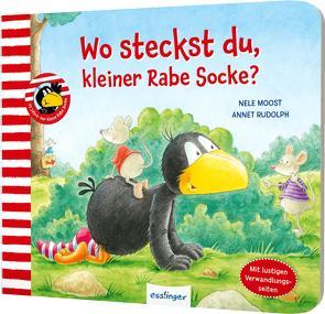 Der kleine Rabe Socke: Wo steckst du, kleiner Rabe Socke? von Moost,  Nele, Rudolph,  Annet