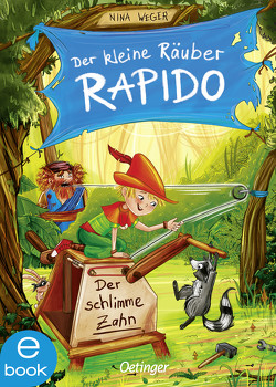 Der kleine Räuber Rapido 3 von Kühler,  Anna-Lena, Weger,  Nina