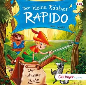 Der kleine Räuber Rapido 3 von Kühler,  Anna-Lena, Singer,  Theresia, Weger,  Nina