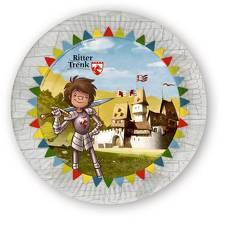 Der kleine Ritter Trenk Pappteller von Boie,  Kirsten