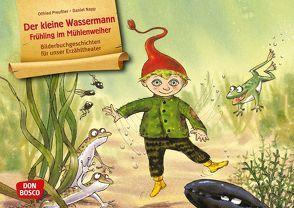 Der kleine Wassermann – Frühling im Mühlenweiher. Kamishibai Bildkartenset. von Napp,  Daniel, Preussler,  Otfried