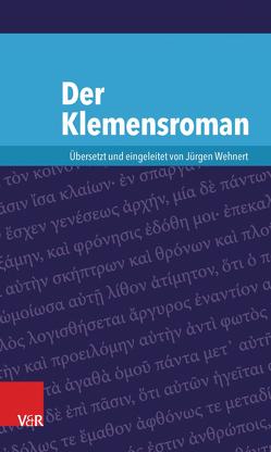 Der Klemensroman von Wehnert,  Jürgen