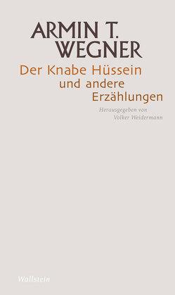Der Knabe Hüssein und andere Erzählungen von Wegner,  Armin T., Weidermann,  Volker