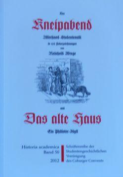 """""""Der Kneipabend"""" und """"Das alte Haus"""" von Frische,  Detlef, Wrege,  Reinhold, Zinn,  Holger"""