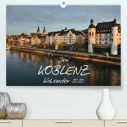 Der Koblenz Kalender (Premium, hochwertiger DIN A2 Wandkalender 2020, Kunstdruck in Hochglanz) von Heußlein,  Jutta