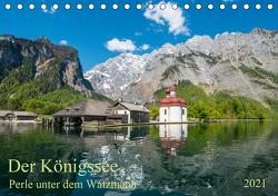 Der Königssee Perle unter dem Watzmann (Tischkalender 2021 DIN A5 quer) von Selection,  Prime