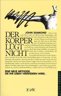 Der Körper lügt nicht von Diamond,  John, Prekopp,  Tibor