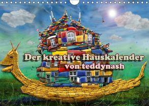 Der kreative Hauskalender (Wandkalender 2018 DIN A4 quer) von teddynash