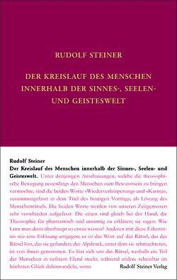 Der Kreislauf des Menschen innerhalb der Sinnes-, Seelen- und Geisteswelt von Leubin,  Andrea, Steiner,  Rudolf