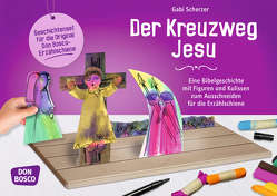 Der Kreuzweg Jesu von Scherzer,  Gabi