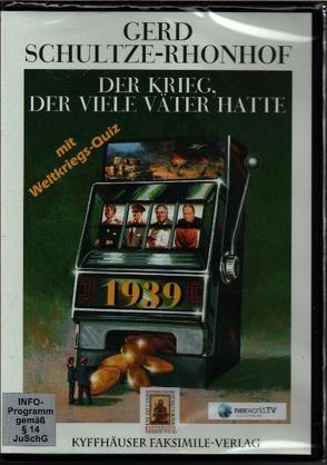Der Krieg, der viele Väter hatte (DVD – 60 Min. + Bonusmaterial) von Schultze-Rhonhof,  Gerd, Vogt,  Michael