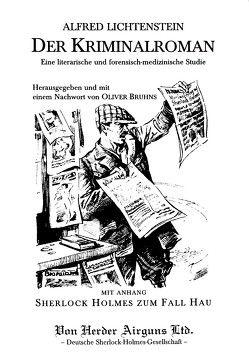 Der Kriminalroman von Bruhns,  Oliver, Lichtenstein,  Alfred