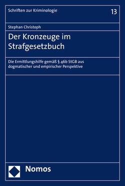 Der Kronzeuge im Strafgesetzbuch von Christoph,  Stephan