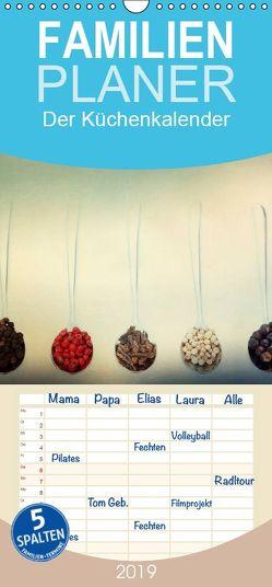 Der Küchenkalender – Familienplaner hoch (Wandkalender 2019 , 21 cm x 45 cm, hoch) von Hultsch,  Heike