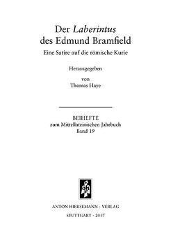 Der Laberintus des Edmund Bramfield von Bramfield,  Edmund, Haye,  Thomas
