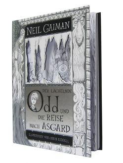 Der lächelnde Odd und die Reise nach Asgard von Gaiman,  Neil, Riddell,  Chris, Steinhöfel,  Andreas