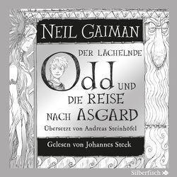 Der lächelnde Odd und die Reise nach Asgard von Gaiman,  Neil, Steck,  Johannes, Steinhöfel,  Andreas