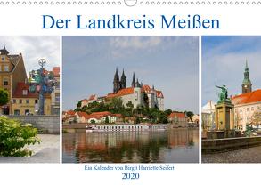 Der Landkreis Meißen (Wandkalender 2020 DIN A3 quer) von Seifert,  Birgit