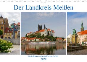 Der Landkreis Meißen (Wandkalender 2020 DIN A4 quer) von Seifert,  Birgit