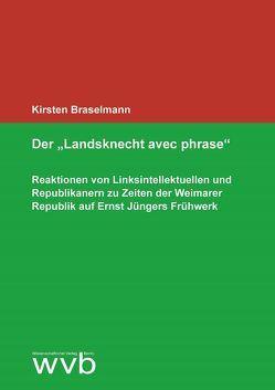 """Der """"Landsknecht avec phrase"""" von Braselmann,  Kirsten"""