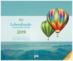 Der Lebensfreude-Inspirationen-Kalender 2019 von Merkle,  Rolf, Wolf,  Doris