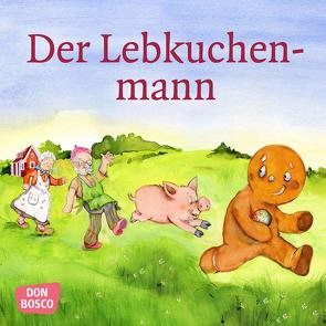 Der Lebkuchenmann. Mini-Bilderbuch. von Lefin,  Petra