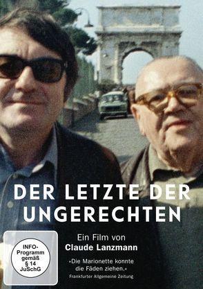 Der Letzte der Ungerechten von Lanzmann,  Claude