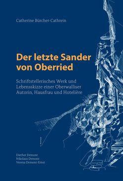 Der letzte Sander von Oberried von Demont,  Diether