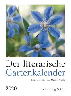 Der literarische Gartenkalender 2020 von Bachstein,  Julia, Nickig,  Marion