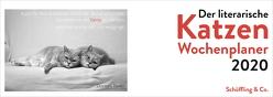 Der literarische Katzen Wochenplaner 2020 von Bachstein,  Julia