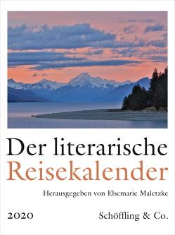 Der literarische Reisekalender 2020 von Maletzke,  Elsemarie