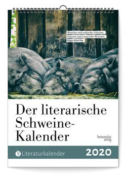 Der literarische Schweine-Kalender 2020