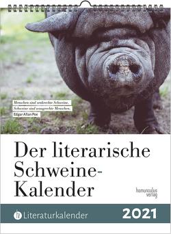 Der literarische Schweine-Kalender 2021