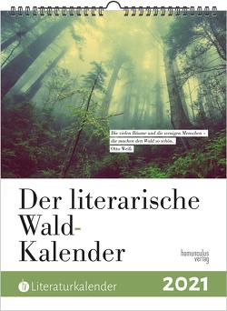 Der literarische Wald-Kalender 2021
