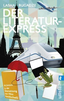 Der Literaturexpress von Bugadze,  Lasha, Haratischwili,  Nino