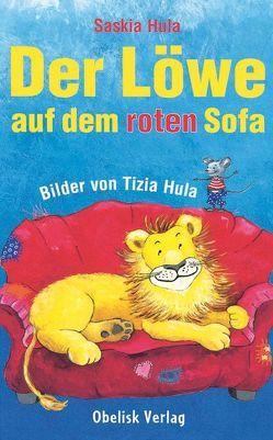 Der Löwe auf dem roten Sofa von Hula,  Saskia, Hula-Reseterits,  Tizia