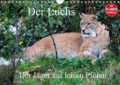 Der Luchs – Der Jäger auf leisen Pfoten (Wandkalender 2018 DIN A4 quer) von Klatt,  Arno