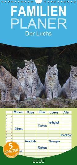 Der Luchs – Familienplaner hoch (Wandkalender 2020 , 21 cm x 45 cm, hoch) von von Düren,  Alexander
