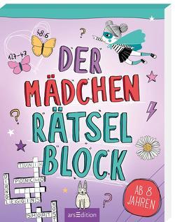 Der Mädchen-Rätselblock von Domzalski,  Bettina, Hahn,  Christiane