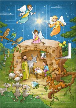 Der magnetische Adventskalender – Ein Stern leuchtet in der Nacht von Husmann,  Tanja