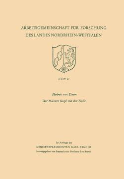 Der Mainzer Kopf mit der Binde von Einem,  Herbert von
