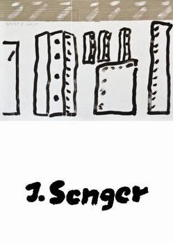 Der Maler Jochen Senger von Franke,  Renate, Haftmann,  Werner, Hollstein,  Horst, Lehmann-Brockhaus,  Ursula, Leppien,  Helmut R, Merkert,  Jörn, Prinz,  Ursula, Schalhorn,  Andreas, Schmidt,  Ulrich, Senger,  Jochen