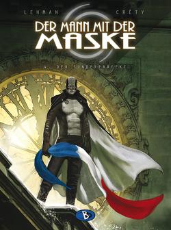 Der Mann mit der Maske #4 von Créty,  Stéphane, Funke,  Saskia, Lehmann,  Serge
