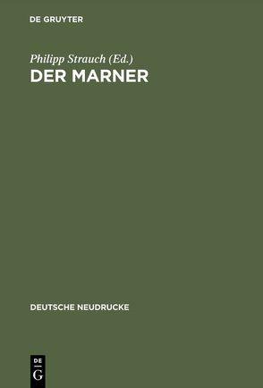 Der Marner von Brackert,  Helmut, Strauch,  Philipp