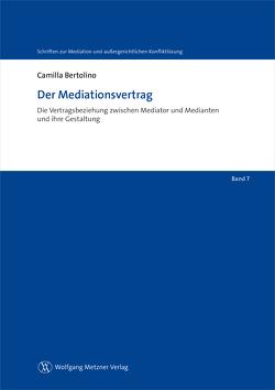 Der Mediationsvertrag von Bertolino,  Camilla