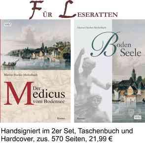 """Der Medicus vom Bodensee + BodenSeele, Set, 2 Bde """"Für Leseratten"""" von Harder-Merkelbach,  Marion"""